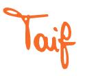 logo taif angelini tendaggi